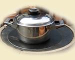 Kochen (wie auf der Herdplatte)